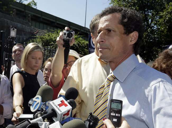 17204047 Anthony Weiner: after these penis photos New Yorks must be mayor shows us his slutbag and twat