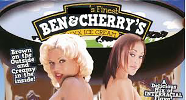 Ben & Jerrys ice cream porn films banned