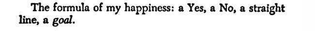 Happiness Formula (Nietzsche)