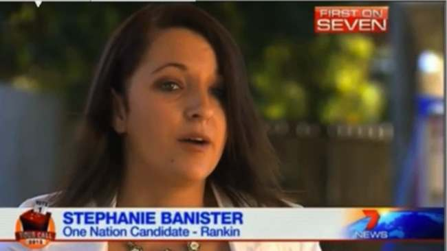 Stephanie Bannister islam Australias Sarah Palin steps down after saying Islam is a country
