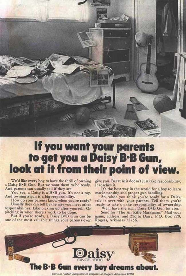 comic book guns 21 The 22 greatest vintage guns for kids adverts