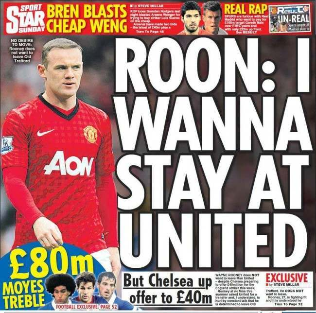 rooney out