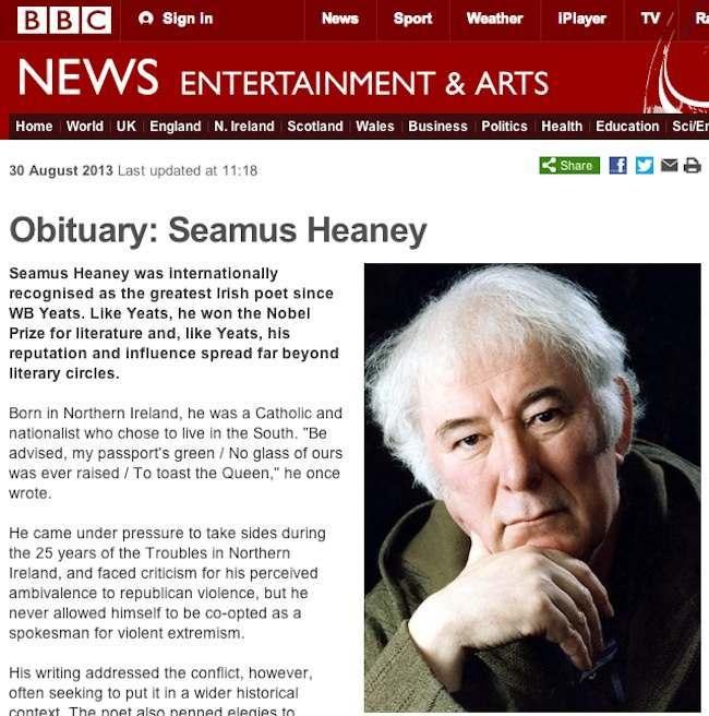 seamus heaney 1