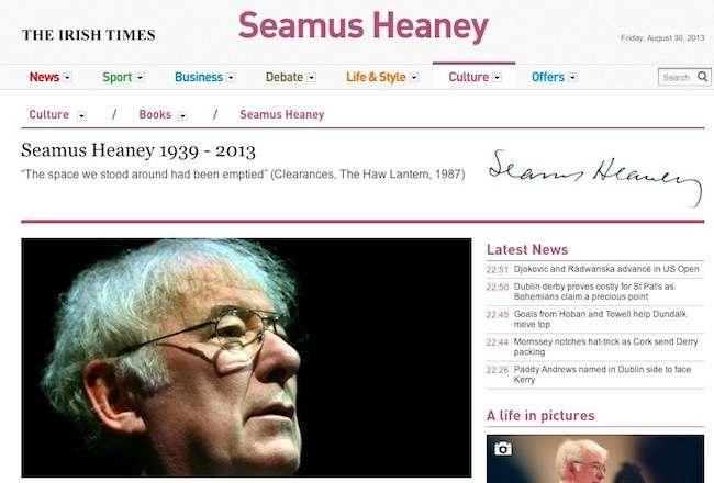 seamus heaney 3