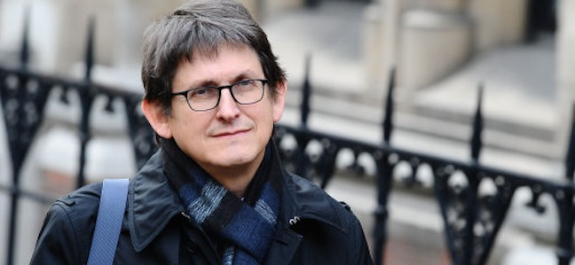 Alan Rusbridger, Editor of the Guardian, arrives at the Levenson enquiry at the Royal Courts of Justice in London. PRESS ASSOCIATION Photo. Picture date: Tuesday 17, 2012. Photo credit should read: Ian West/PA Wire