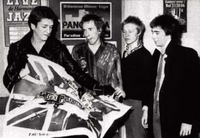 1299499 The 1977 Sex Pistols Christmas Party and Huddersfield cake fight