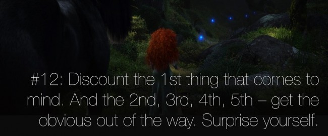 22 rules of story telling pixar 11