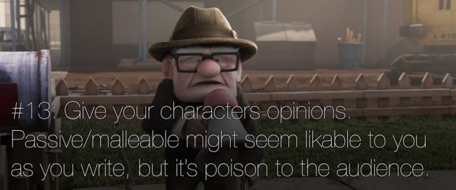 22 rules of story telling pixar 12