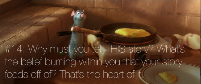22 rules of story telling pixar 13