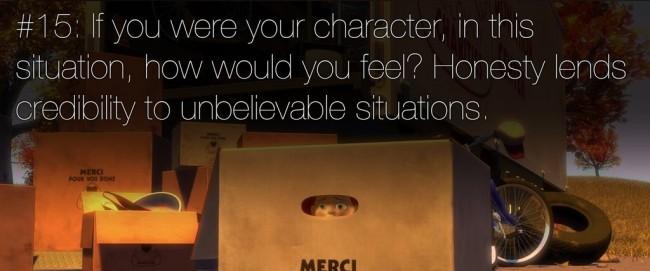 22 rules of story telling pixar 14