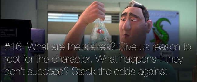 22 rules of story telling pixar 15