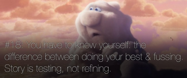 22 rules of story telling pixar 18