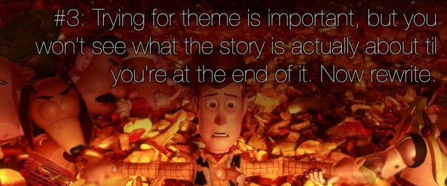 22 rules of story telling pixar 2