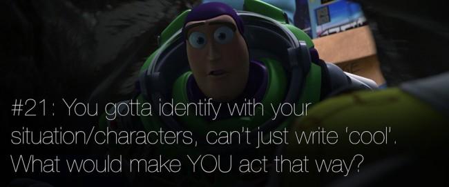 22 rules of story telling pixar 21