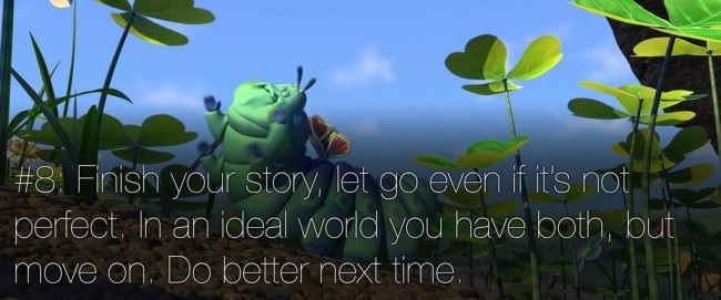 22 rules of story telling pixar 7