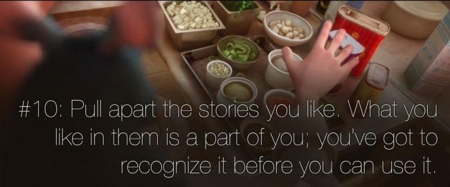 22 rules of story telling pixar 9