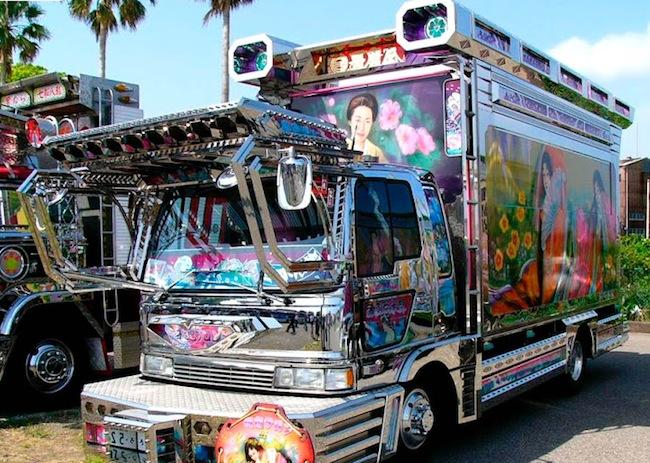 Japon truck art 12