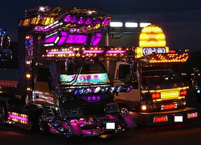 Japon truck art 13