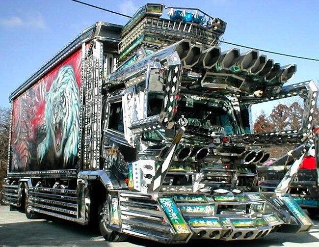 Japon truck art 9