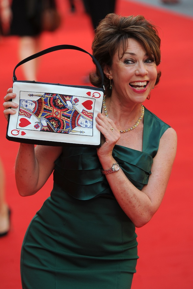 Kathy Lette arriving for the Diana premiere at the Odeon Leicester Square, London. PRESS ASSOCIATION Photo. Picture date: Thursday September 5, 2013. Photo credit should read: Anthony Devlin/PA Wire