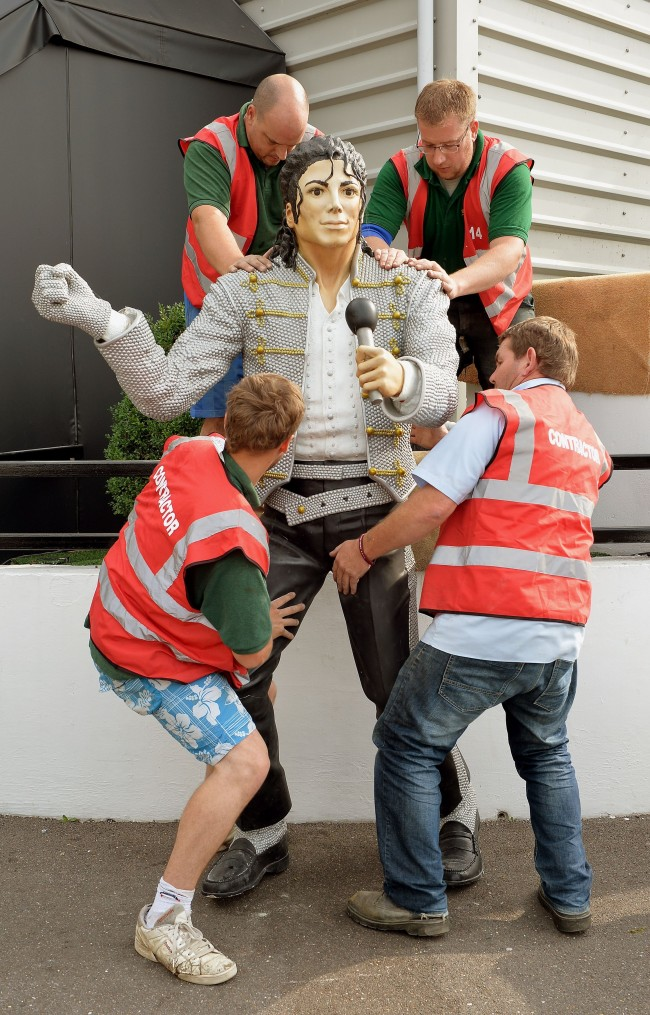 PA 17723502 After Fulham: Where does the Michael Jackson statue go now?