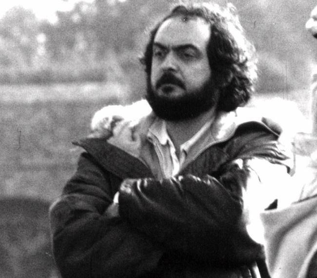 """Film director Stanley Kubrick is seen in 1975 during production of of the film """"Barry Lyndon"""". Kubrick died Sunday, March 7, 1999 at his rural home in England. He was 70. A cause of death has not been released."""