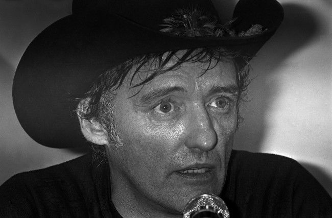 PA 8948958 In 1983 Dennis Hopper performed this Russian Dynamite Death Chair Act in Houston
