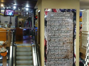 commandment escalator