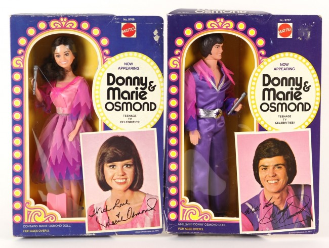 donny and marie action figures