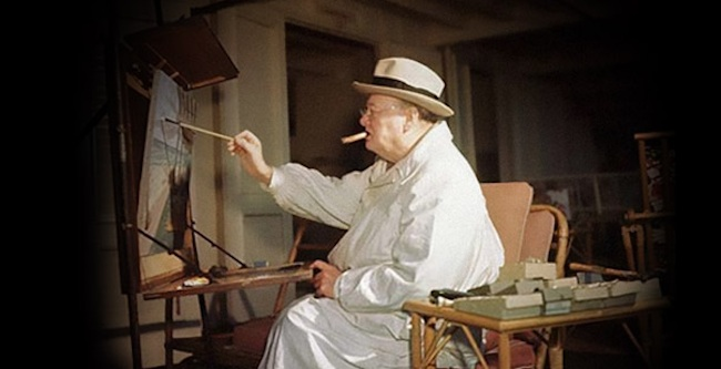 painter churchill