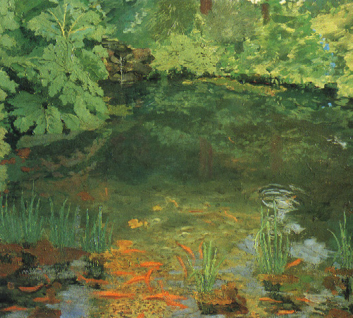 rchill__The_Goldfish_Pool_at_Chartwell__19321