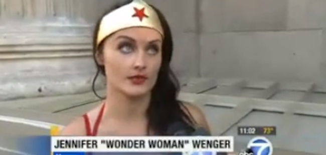 wonder woman attacked