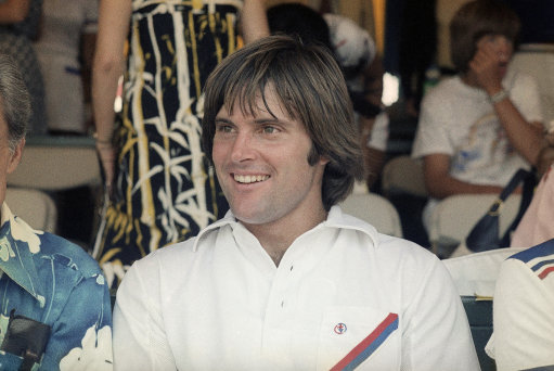 Athlete Bruce Jenner in 1987. (AP Photo)