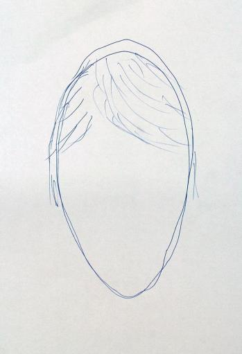 The e-fit of a man, as drawn from memory by British born DVD shop owner Simon Russell after being shown it by police last Saturday, in Praia Da Luz, Portugal, following the disappearance of Madeleine McCann.