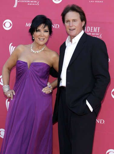 Bruce Jenner and Kendall Jenner arrive at the 44th Annual Academy of Country Music Awards in Las Vegas on Sunday, April 5, 2009. (AP Photo/Jae C. Hong)