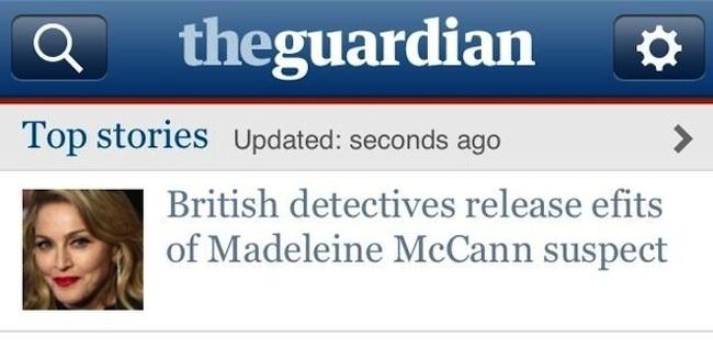 Guardian maddie suspect