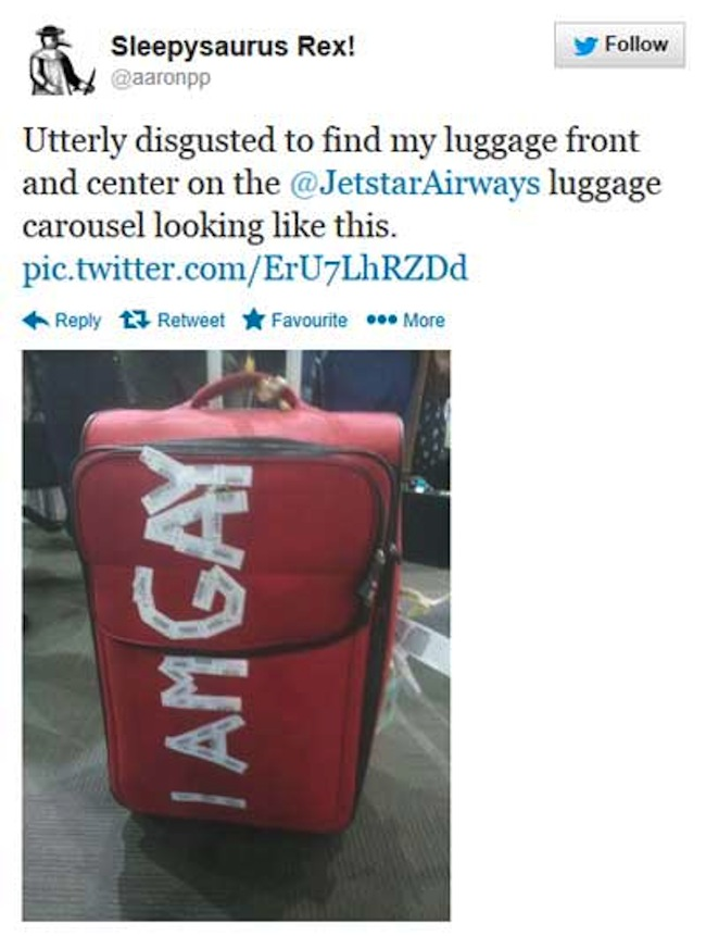 Luggage gay