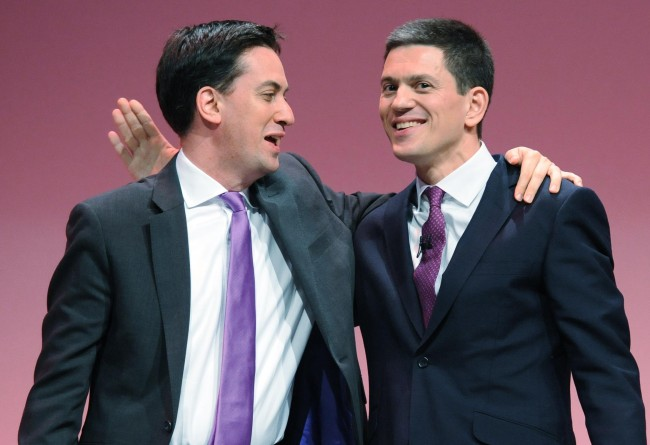 PA 17052560 Me and David Miliband: Once upon a time the the Daily Mail loved evil Ralph Miliband