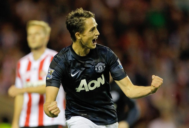 PA 17825712 Manchester United: Moyes claims credit for Adnan Januzaj and says all Manchester City fans dream of playing for United