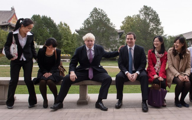 PA 17899356 Boris Johnson Cant Keep His Legs Together In China   Photos