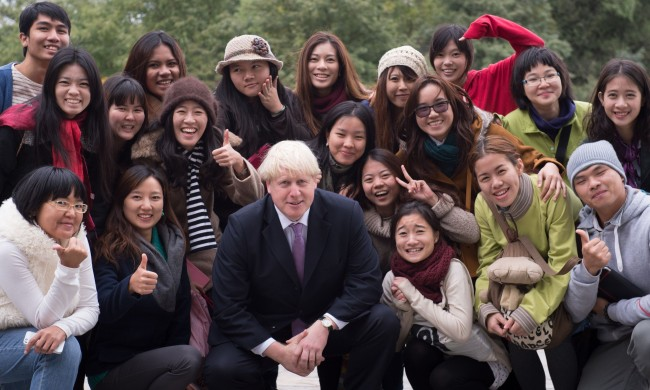 PA 17899363 Boris Johnson race gaffe? London mayor tells Chinese Harry Potters Scottish lover Cho Chang was a foreigner
