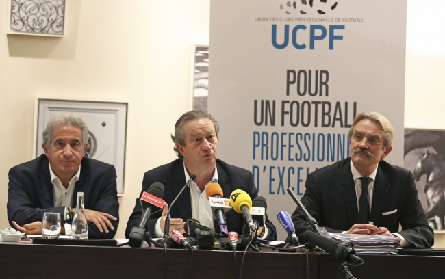 PA 18003010 French Football Cancels Matches To Protest Against Tax