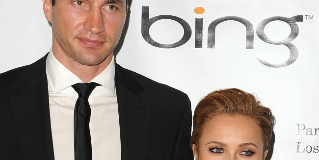 PA 87369141 All Hail President Klitschko! And First Lady Hayden Panettiere!