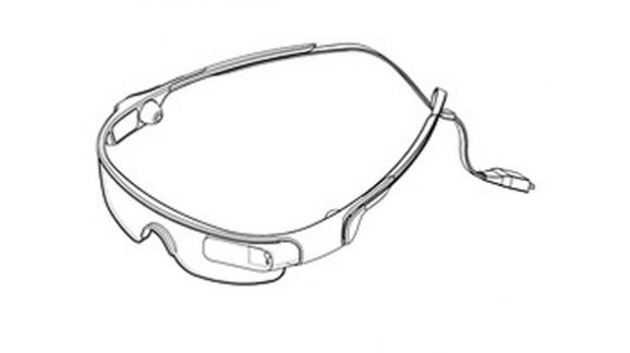 Samsung's new sports glasses, from the Korean patent