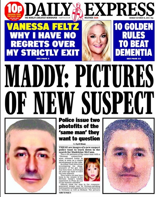 efit wanted maddie mccann german