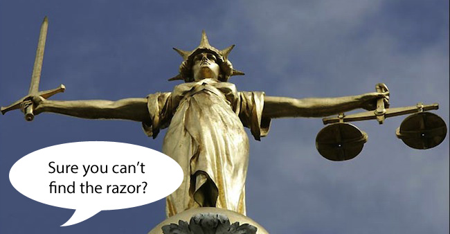 high court pubic copy1 Row Over Muslim Womans Pubic Hair Costs Taxpayers £350,000