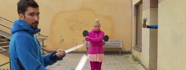 ping-pong tricks