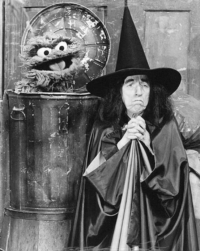seasme street witch In 1976 Margaret Hamilton Terrified The Children Of Sesame Street