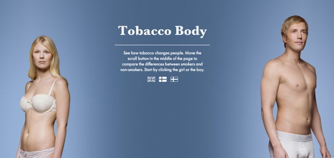 smokers body