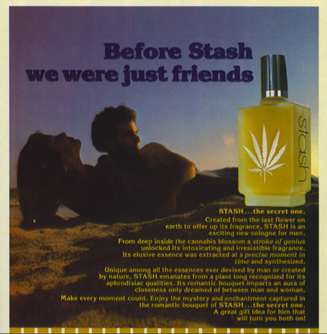 stash cologne In 1981 STASH cologne for men attracted women as well as police and their dogs
